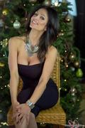Дениз Милани, фото 4158. Denise Milani Xmas Part 2 :, foto 4158