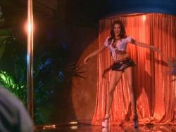 Final, sorry, Teri hatcher on a stripper pole something is