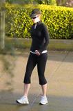Николь Кидман, фото 1993. Nicole Kidman going for an early morning run in San Francisco - March 25, foto 1993