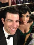Hannah Simone - Twitter Picture from 69th Golden Globes - Jan 15, 2012 (x1)